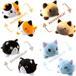 Reversible Cat Gato Kids Soft Gift Plushie octopus Plush Animals Double-Sided Flip Doll Cute Toys Peluches For Pulpos Kid Girl
