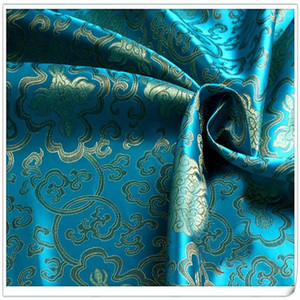 Honour Flowers style Brocade Fabric Damask Jacquard Apparel Costume Upholstery Furnishing Curtain DIY Clothing Material BY meter1