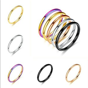 Hot Boutique Titanium Steel Love Rings Lovers Band Rings Size For Women And Men Jewelry ps1625