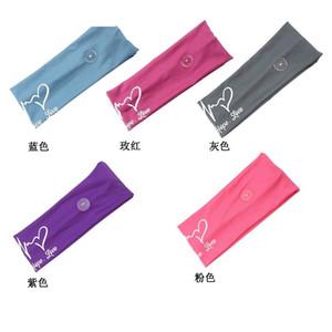 Tela Lady Lady Band Band Button Women Fashion Headbands Prevenir Strangulación Pure Color Headband 2020 4 78Jy J2B