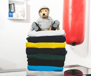 Üst Kalite Moda Yeni Renk Kutu Hoodie Hip Hop Streetwear Klasik Nakış Harf Marka Fleece Hoodie