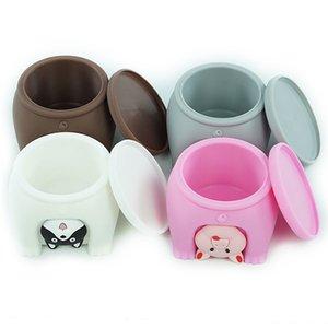 Suplemento 120ml Food armazenamento Baby Box Fruit Food Durable Conveniente transparente fácil de transportar estilo animal de Segurança