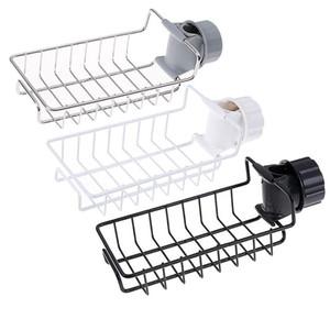 Pia quente de aço inoxidável pendurado armazenamento de armazenamento titular torneira clipe banheiro cozinha lavoura prato de prato de prato dreno toalha de drenagem