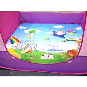 Kids Baby Hexagonal Cartoon Crawling Carpet Play Mat Rug Toy Early Learning