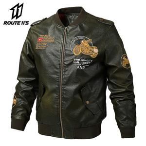 Motorcycle coat PU leather jacket riding motorcycle coat Biker garment back elegant coat fan motorcycle equipment
