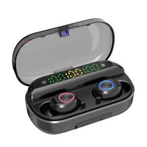 F10 VS V10 TWS Berühren Sie Drahtlos-Kopfhörer 3 Digital LED-Anzeige 8D Stereo Bass Sound Sport-Kopfhörer 1200mAh Energien-Bank