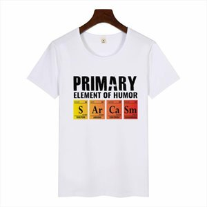 Periodic Table of Humor Womens T Shirt Si Er Ra Science Sarcasm Primary Elements Chemistry T Shirt Casual Funny Graphic Tee Top