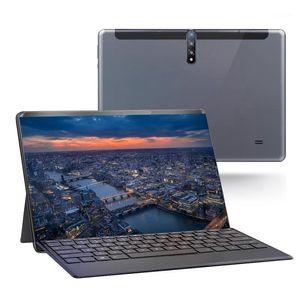 태블릿 PC 10 인치 HD 디스플레이 Android 3G 전화 통화 태블릿 듀얼 SIM 카드 분리형 키보드 1