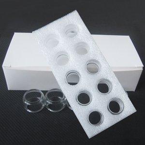 Fat Bulb Bubble Glass Tube for Morph 219 TF TANK TF2019 Atomizer Faris RDTA Electronic Cigarette DHL Free