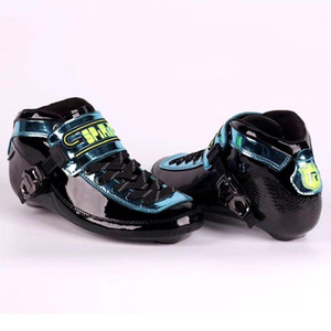 Original Professional SPIRIT 2020 Speed Inline Skate Boots Quality Carbon Fiber Competition Speeding Skate Racing Skating Boot