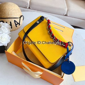 2020 Fashion Womens Designer Top High Quality Luxury Handbags Inclined Shoulder Bag With Box