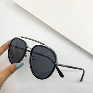 0748 nuovi occhiali da sole donne e gli uomini di moda cornice ovale in metallo Protezione UV Lens popolare stile estivo occhiali da sole superiore prossimo con la scatola
