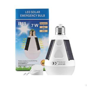 E27 7W 12W Solar Lamp 85-265V Energy Saving Light LED Intelligent Lamp Rechargeable Solar Emergency Bulb Daylight
