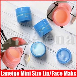 Laneige Özel Bakım Dudak Uyku Maskesi Dudak Balsamı Ruj 3G ve Su Uyku Maskesi Gecede Küçük Boy 15ml