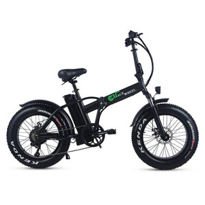 "48V 15Ah Lithium Battery 20"" Fat Tyre Electric bike Strong Power 500W Foldable Electric Fat Bike Disc Brake fat Ebike"