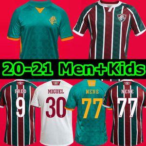 FLUMINENSE Tercero 2020 fútbol Jerseys Ganso Flufão Fred Phganso Hudson Nino Nino Miguel Henrique Futbol Camisas Camisetas de fútbol Camisetas