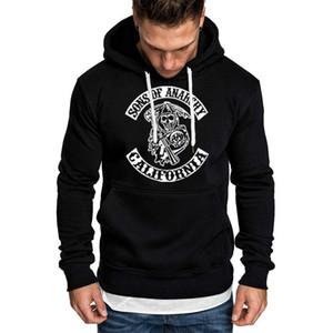 SOA Sons of anarchy the child Fashion Skull Print Men Sportswear Hoodies Male Casual Sweatshirt Winter Fleece Hip Hop Warm Hoody 201020