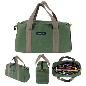 Multi-function Canvas Tool Bag Waterproof Storage Hand Tool Bag Portable kit 12 14 16inch