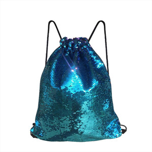Fashion Boy Girl Sequins Colorful Package Bags Travel Princess Bling Backpack For child mochila feminina 200