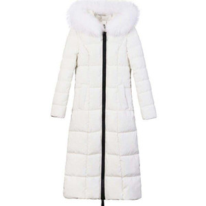 slimming long over the knee snowsuit winter dress cotton padded clothes thickening intensification cultivate warm deep jacket