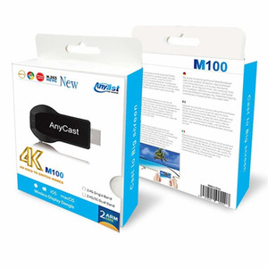 Anycast M100 2.4G 5G 4K Miracast Any Cast Wireless DLNA AirPlay HDMI TV Stick Wifi Display Dongle Receiver for IOS Android PC