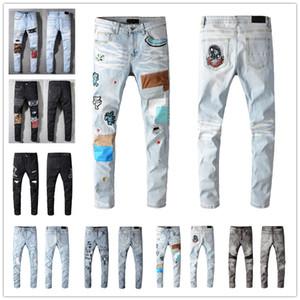 2020 Fashion Skinny Mens Jeans 614 Dritto Slim Elastico Jean Uomini Casual Motociclista maschile Stretch Denim Pantaloni Pantaloni classici Jeans Dimensione 28-40