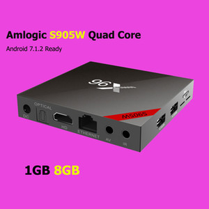 X96W X96 Android 7.1.2 Smart TV BOX 1GB 8GB Amlogic S905W Quad Core 4K 30tps WiFi 2.4GHz Set-top box