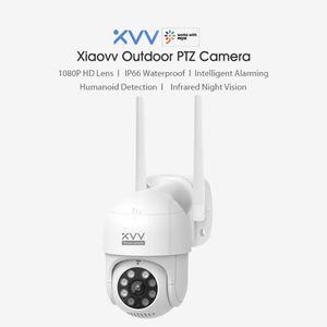 CN Version Xiaovv PTZ Panorama IP Camera XVV-6620S-P1 1080P HD Home Security Camera IR Detection WiFi Waterproof Outdoor