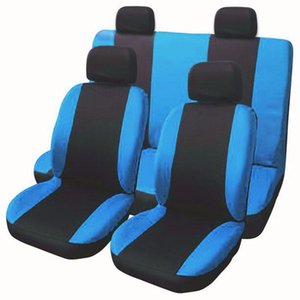 Detail New Style Polyester Car Seat Cover Universal Fit Most Car Cases Seat Protector Covers 6 Colours
