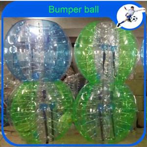 Toptan CE Dia 1.2m PVC Şişme Topu Takım elbise, Tampon Ball, Loopyball / Kabarcık Futbol İçin Kolombiya VohY #