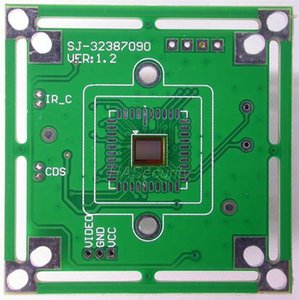 """1 / 4.5 """"PixelPlus PC7090 CMOS Sensor de imagen CCTV Cámara CCTV Módulo de placa de PCB (partes opcionales) 1"""