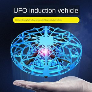 NEW Mini Drone UFO Hand Operated RC Helicopter Quadrocopter Dron Infrared Induction Aircraft Flying Ball Toys For Kids