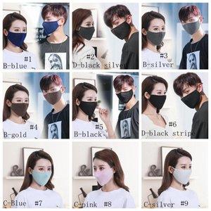 Verão GGA3381 máscara máscara de lantejoulas máscara de solteira anti protetor 13style máscaras de moda capa de moda glitter pó face designer DBS Qoomx