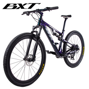 새로운 탄소 산악 자전거 29er 풀 서스펜션 자전거 프레임 MTB 다운 힐 자전거 1 * 12speed 스포츠 MTB 서스펜션 완전한 자전거
