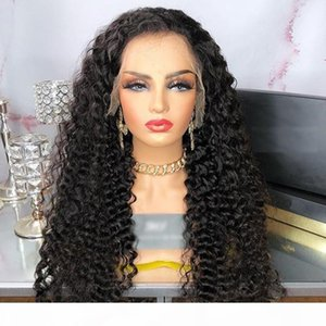 Mongolian Bouncy Curly 13x6 Lace Front Human Hair Wigs with Baby Hair Full Lace Wigs for 360 frontal wig Pre Pluck Natrual Hairline