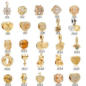 Anomokay Sterling 925 Silver Silver Style Style Color Charms Charms Ciondolo Bead Fit Pandora Braccialetto Best FAI DA TE Gioielli Fare regalo Q1106