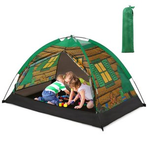 Kids Tent Play House Children Playhouse Kids Toy House Children Tent Yurt Children's Gifts Indoor Outdoor Game Toy