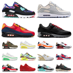 nike air max 90 2019 Nouveaux Hommes Femmes Baskets Viotech INFRARED WHEAT SUEDE BE TRUE Blanc-Laser Fuchsia Chaussures de course Mode Homme Trianers 36-46