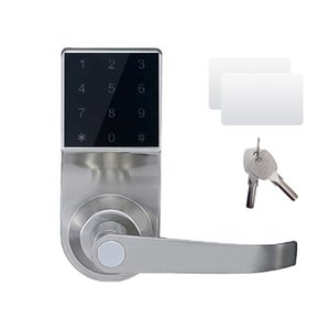 Free Express Smart Electronic Door Lock Touch Screen Keypad Password, Code, Mechanical Key Spring Bolt Keyless AL18092S
