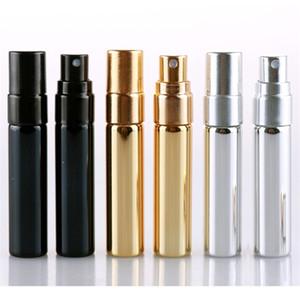 5ml Refillable Portable Mini Perfume Bottle Traveler Aluminum Empty Parfum Spray Atomizer Container Tools RRA2877