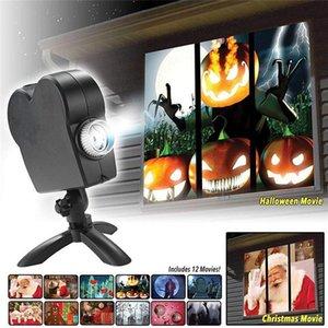 할로윈 크리스마스 윈도우 이상한 나라의 디스플레이 레이저 DJ 무대 램프 실내 야외 크리스마스 스포트라이트 HWE2223에 대한 창 프로젝터