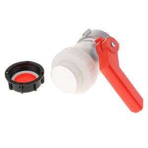 IBC Tote Tank Drain Adapter Garden Hose BALL VALVE 75mm To 2inch