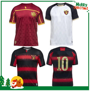 20 21 Recife Brazilian Sport Club do Soccer Jersey Red Black Striped Shirt 2020 Hernane Sander Football Shirts Camisa Recife Goleiro