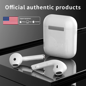 Earbuds Original TWS sem fio Fone de ouvido Bluetooth Mini Sports In-Ear Stereo earpods Auscultadores Gaming Headsets para iPhone Xiaomi Huawei