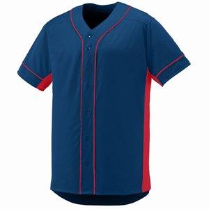 77 565 555 Leere Baseball Jersey Männer Frauen Größe S-3XL White Button Down Pullover