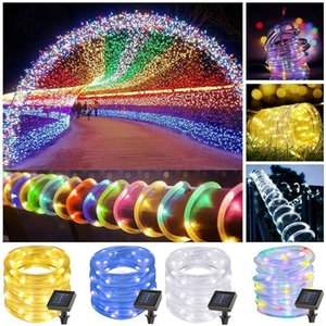 Led String Outdoor Waterproof Garland 200Led Light Christmas Party Garden Home Decor Solar Powered Fairy Lights Hot