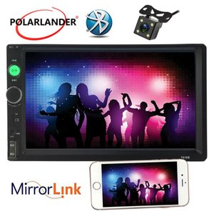 Auto Radio LCD Touch Screen Optional 170 degree CCD rearview camera Mirro Link Car Radio Player Bluetooth 2 DIN 7 inch