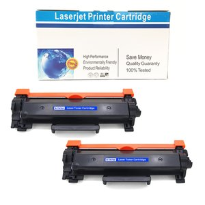 Compatible Toner Cartridge Replacement for Brother TN-760 TN760 MFC-L2730DW MFC-L2750DW HL-L2370DW HL-L2395DW DCP-L2550DW (2-Pack Black)