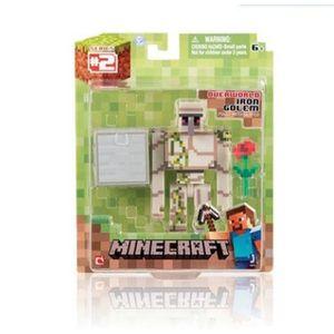 Creeper Mine Minecraft Ghast Him Bricks Christmas Model Puzzle Minifig Building For Boy Man Blocks Children Assembly Toys Gift Arllp