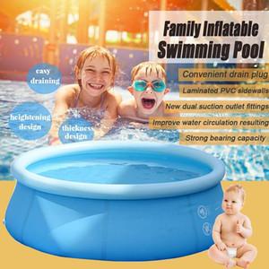 SGODDE 4-10FT Şişme Yüzme Havuzu Aile Bahçesi Açık Kapalı Parti Çocuklar Dairesel Yüzme Havuzu Oynama1